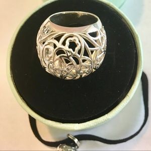 TOUS silver ring Dream collection size 6.5